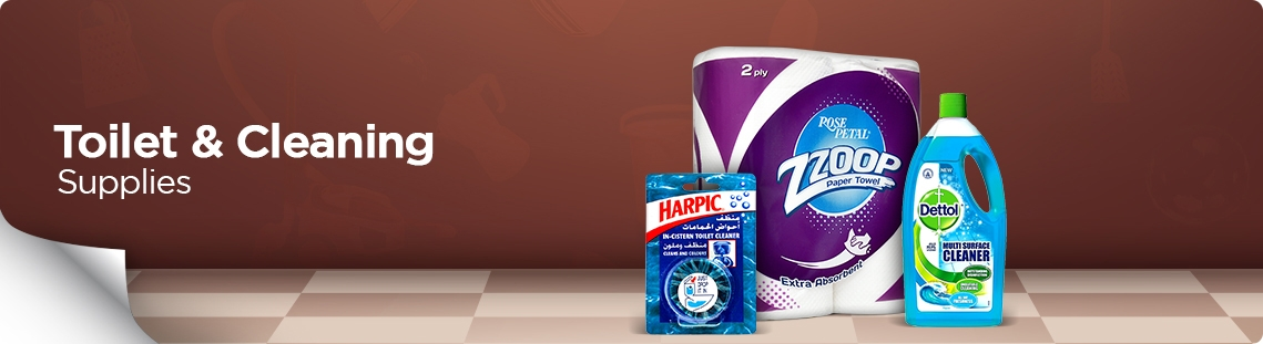 Toilet & Cleaning Supplies
