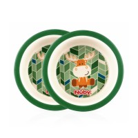 Nuby Bamboo and Maize Eco-Friendly (Pack of 2)