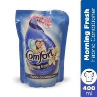 Comfort Morning Fresh Fabric Conditioner Pouch Blue - 400ml