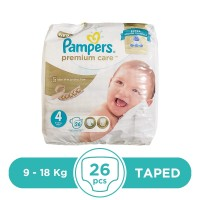 Pampers Premium Care Maxi 9 To 18 kg - 26Pcs