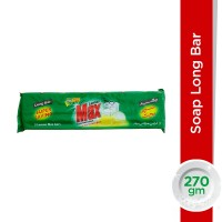 Lemon Max Dishwash Soap Long Bar - 270gm