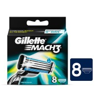 Gillette Mach3 Razor Blades (Pack of 8)