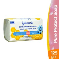 Johnson's Pure Protect Kids Nigella and Honey Soap - 125gm