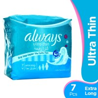 Always Ultra Thin Extra Long Pads (Pack of 7)
