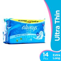 Always Ultra Thin - Extra Long Pads (Pack of 14)