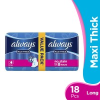Always Maxi Thick - Long Pads (Pack of 18)