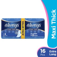 Always Maxi Thick - Extra Long Pads (Pack of 16)