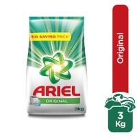Ariel Detergent Original Powder - 3kg