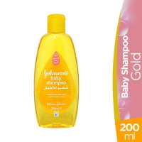 Johnson's Gold Baby Shampoo - 200ml
