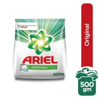 Ariel Detergent Original Powder - 500gm