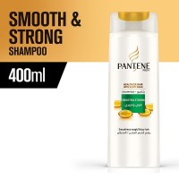 Pantene Smooth and Strong Shampoo - 400ml