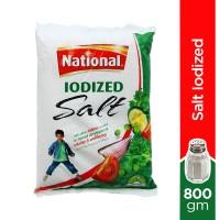 National Salt Iodized Refined - 800gm