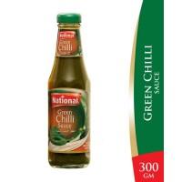 National Green Chilli Sauce - 300gm