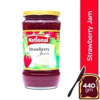 National Strawberry Jam - 440gm