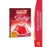National Strawberry Jelly Crystals - 80gm