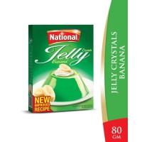National Banana Jelly Crystals - 80gm