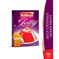 National Mixed Fruit Jelly Crystals - 80gm