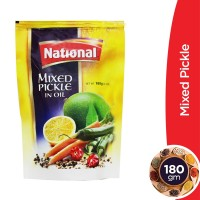 National Mixed Pickle Pouch - 180gm
