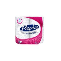 Papia 3 Ply Kitchen Towel 2 Rolls (Pack of 2)