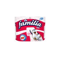 Familia Plus 2 Ply Perfumed Strawberry (Pack of 4)