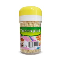 Tooth Pick Wooden Jar