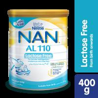Nestle NAN AL 110 Lactose Free (0+ Months) - 400gm