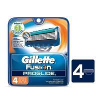 Gillette Fusion Proglide Cartridges Razor (Pack of 4)
