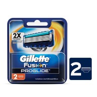 Gillette Fusion Proglide Cartridges Razor (Pack of 2)