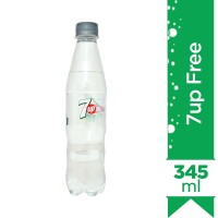 7up Free Bottle - 345ml