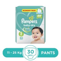 Pampers Taped 11 To 25kg - 30Pcs