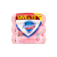 Safeguard Floral Bundle - 135gm