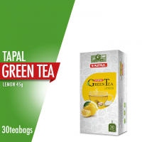 Tapal Green Tea Lemon Tea Bags (Pack Of 30)