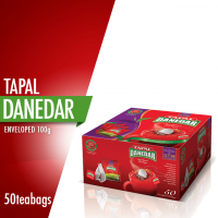 Tapal Danedar Enveloped Teabags (Pack of 50)