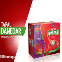 Tapal Danedar Enveloped Tea Bags (Pack of 100)