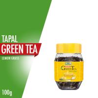 Tapal Green Tea Lemon Grass Jar - 100gm