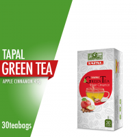 Tapal Green Tea Apple Cinnamon Tea Bags (Pack Of 30)