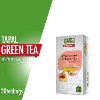 Tapal Green Tea Tropical Peach (30 Tea Bags)