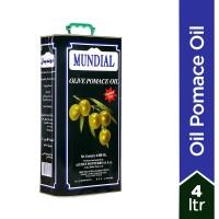 Mundial Olive Oil Pomace Tin - 4Ltr