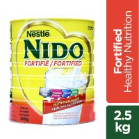 Nestle Nido Fortified Tin - 2.5kg