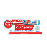 Buy Colgate Sensitive Pro-Relief 114gm and Get Sensitive Pro-Relief ToothBrush Free