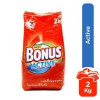 Bonus Active Detergent Powder - 2kg