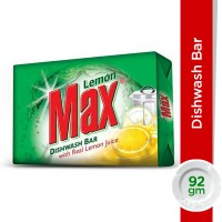 Lemon Max Lemon Dishwash Bar - 92gm