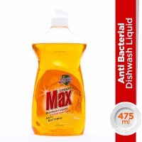 Lemon Max Anti-Bacterial Liquid Dishwash - 475ml