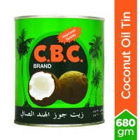 C.B.C.Coconut Oil Tin - 680gm