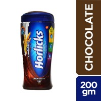 Horlicks Chocolate Drinking Powder - 200gm