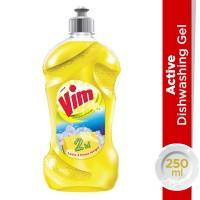 Vim Active Dishwash Gel Lemon - 250ml