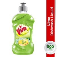 Vim Dishwash Liquid Lime - 500ml