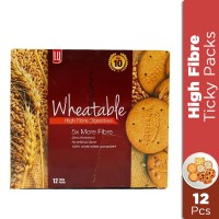 LU Wheatable High Fiber Digestives Ticky Pack (Pack of 12)