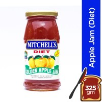 Mitchell's Golden Apple Jam (Diet) - 325gm