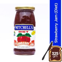 Mitchell's Strawberry Jam (Diet) - 325gm